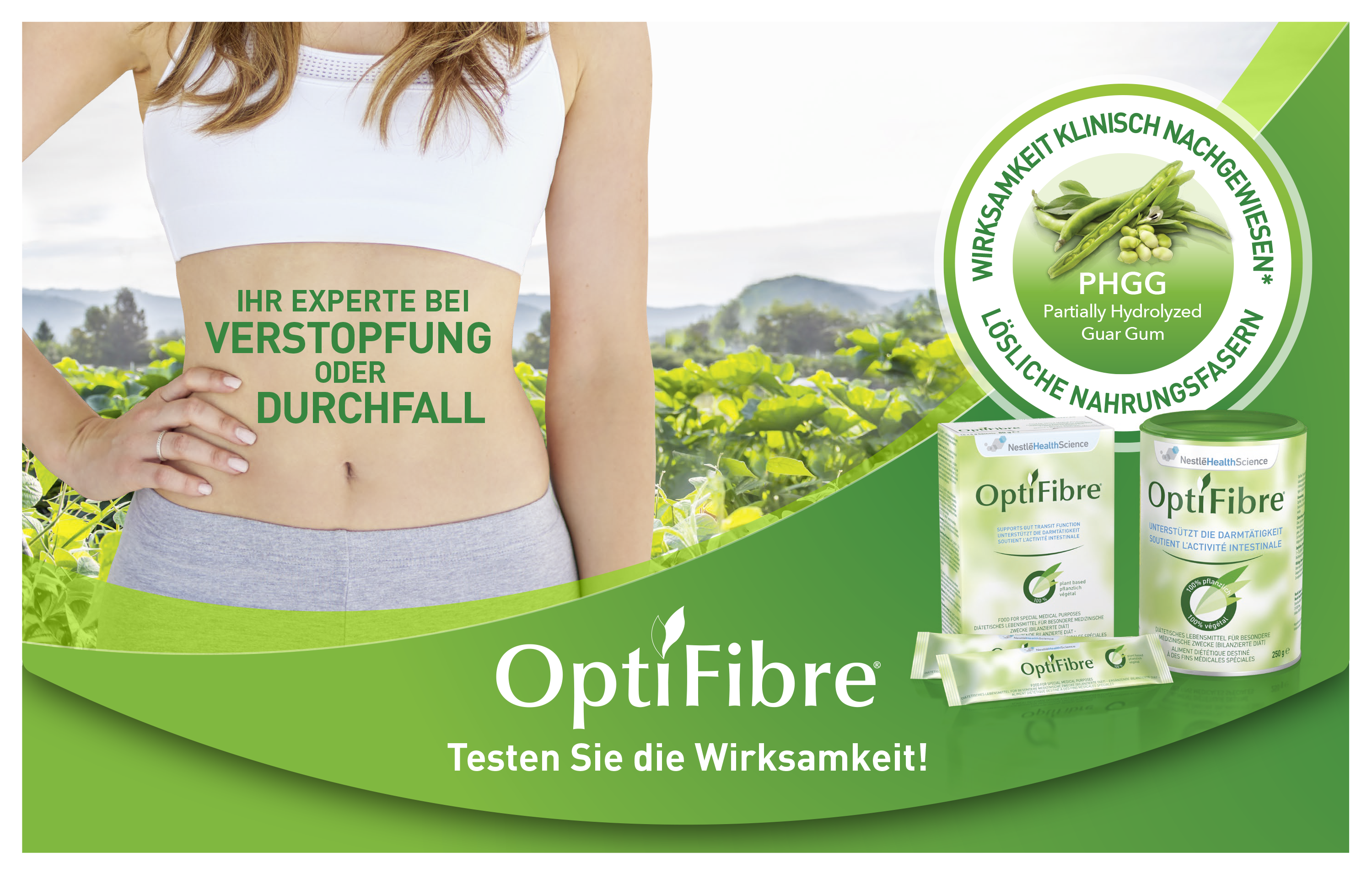 OptiFibre®, Gratismuster